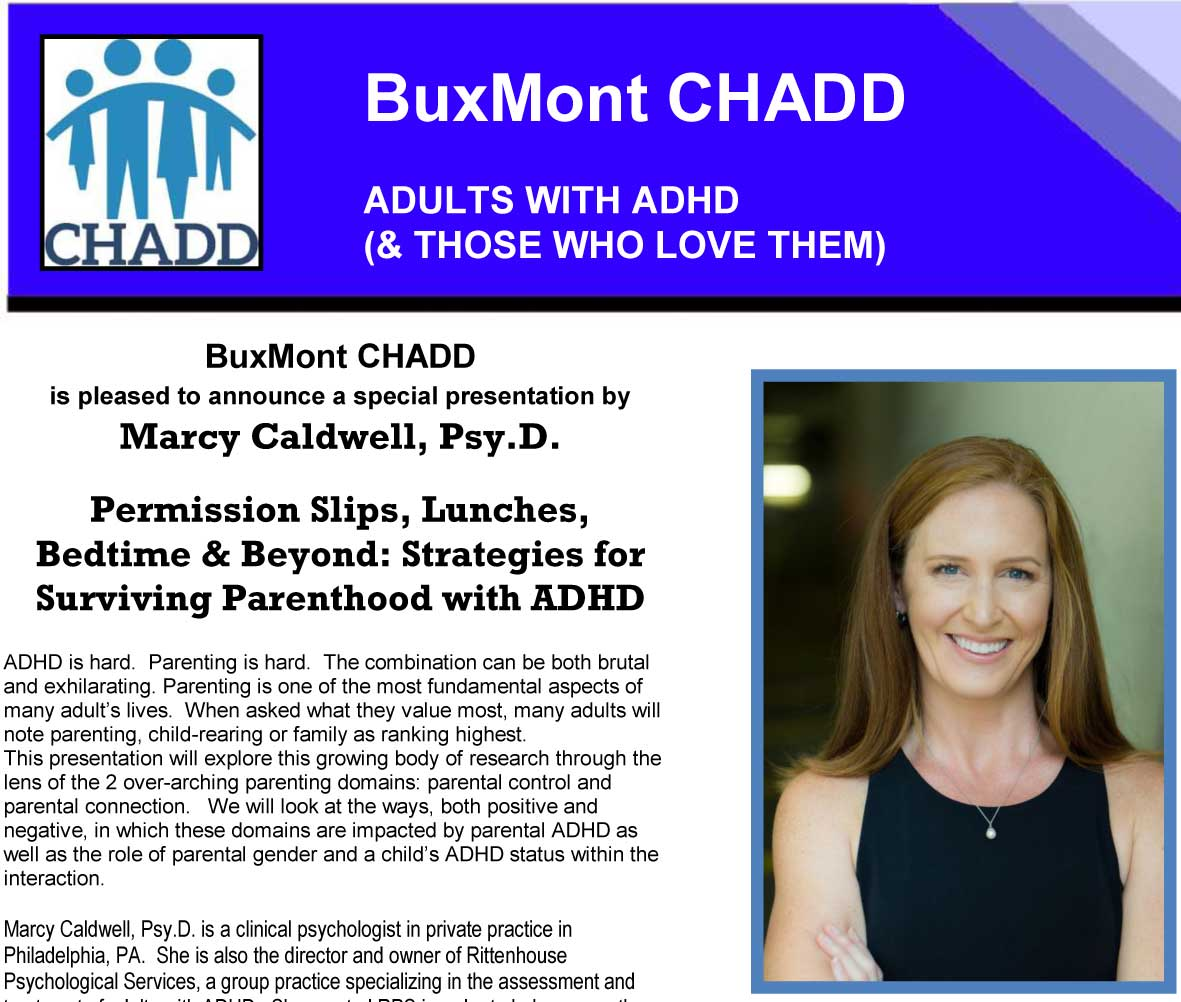 Parents with ADHD: Strategies for Survival