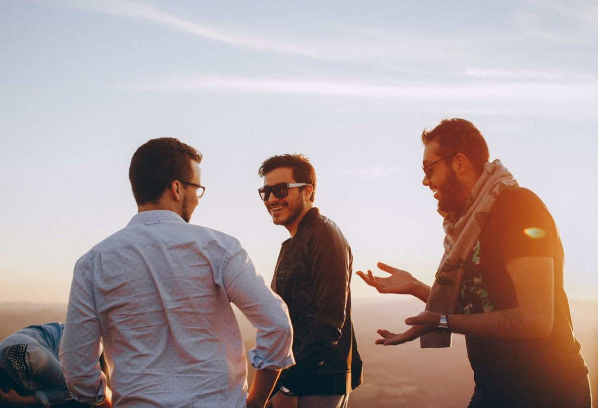 Men Can Have Better Friendships. Here's How